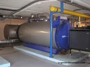 Une chaudiére de 1.5 MW