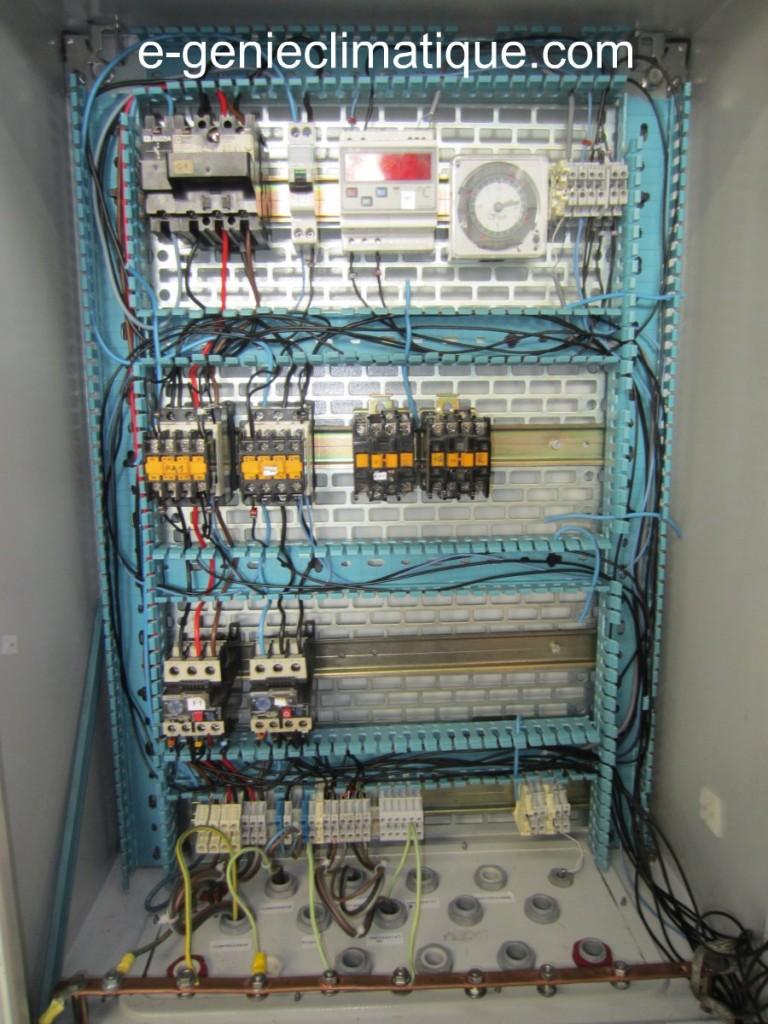 Froid06 mon premier montage partie 2 sch mas lectriques - Schema cablage armoire electrique industrielle ...