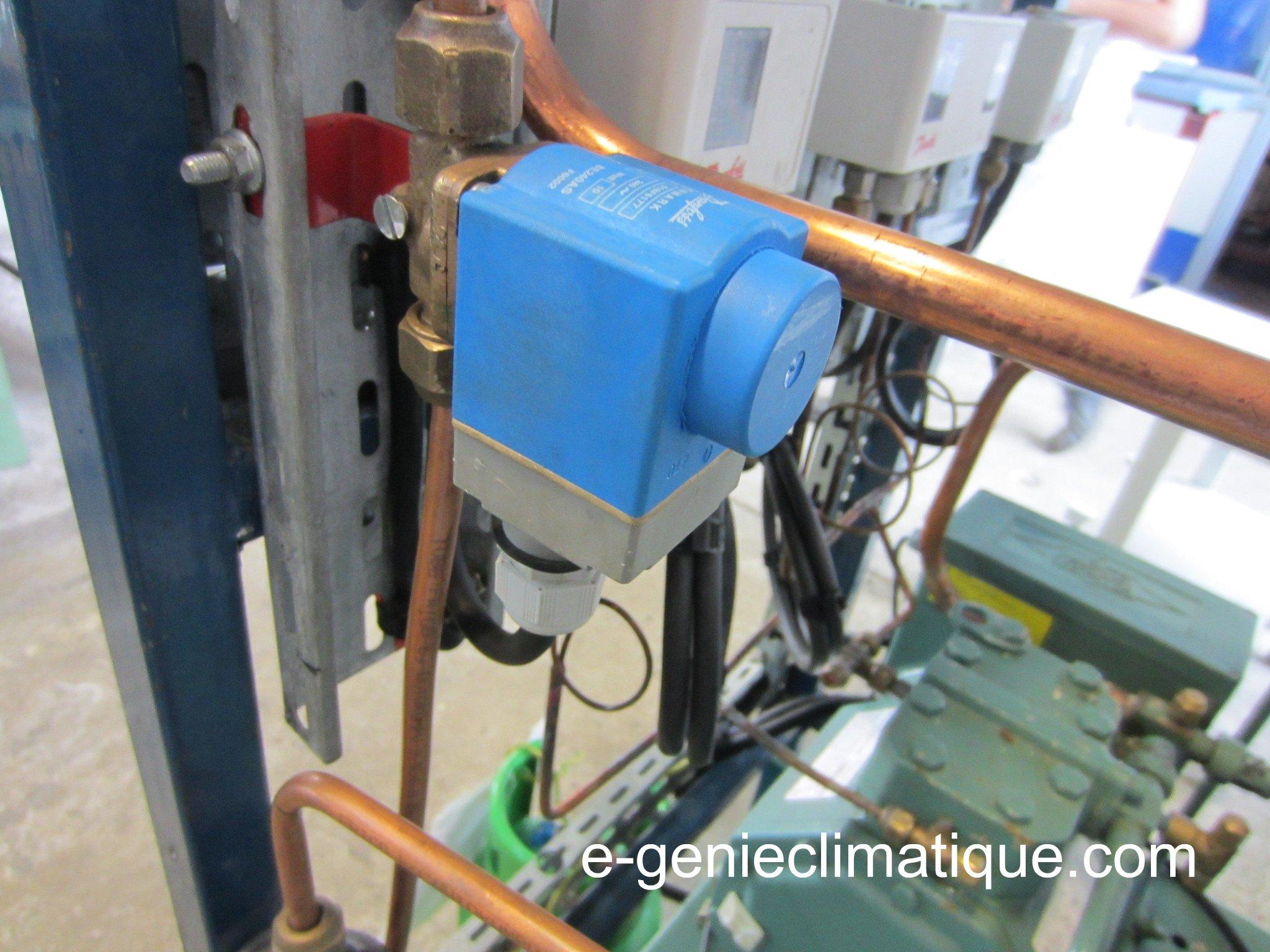 Electrovanne liquide
