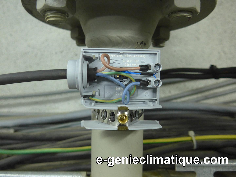 Chaufferie03 sch ma lectrique et c blage d 39 un d part for Sonde interieure chauffage