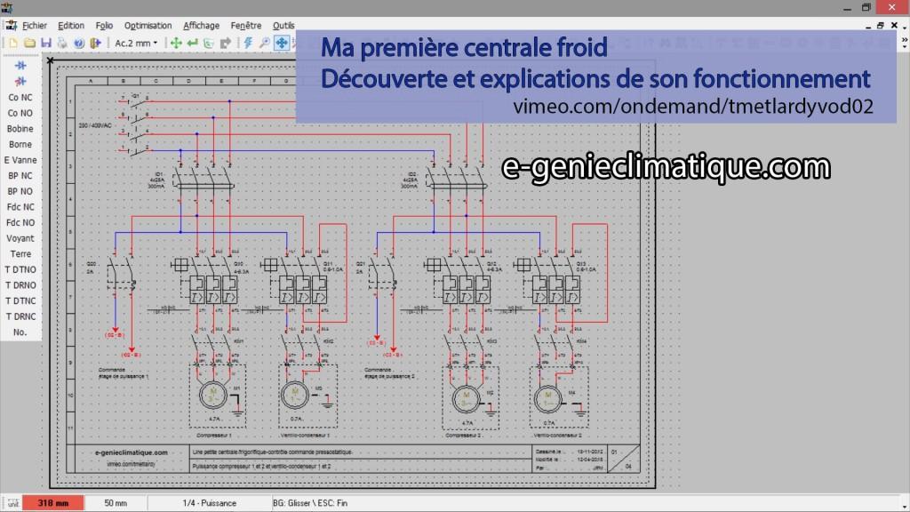 VOD02-schema_electrique_puissance_commande_d_une_petite_centrale_froid