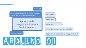 Arduino01-Présentation projet et orientation de la chaine YouTube TMETLARDY e-genieclimatique