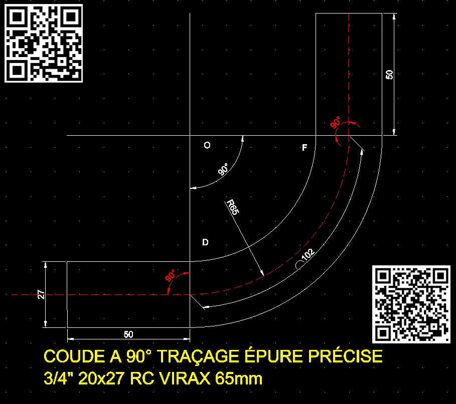 coude-a-90-traçage-epure-precise-tube-acier-3-4-20x27-rayon-cintrage-65mm-viraxvue-CAO-drafsight-w