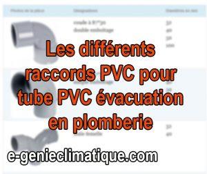 Plomberie08-Fiche-Les-differents-raccords-PVC-pour-tube-PVC-évacuation